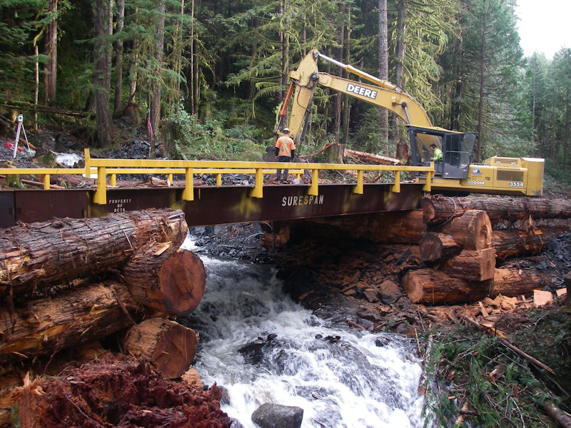 Mount Pearkes Box Cribbing - Jervis Inlet - BC Timber Sales